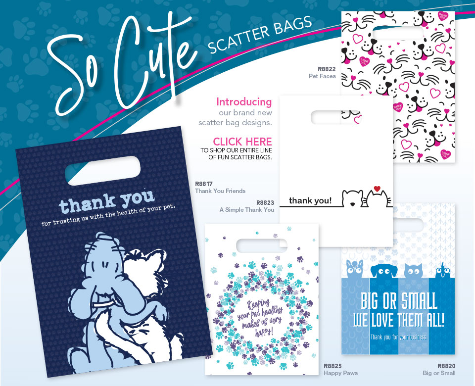 Veterinary Apparel Company Supply Scatter Bags