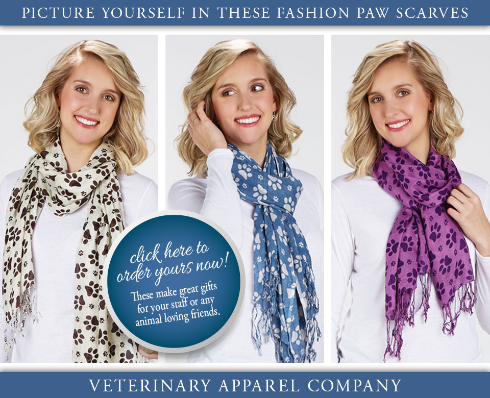 Veterinary Apparel Company is All About Paws!