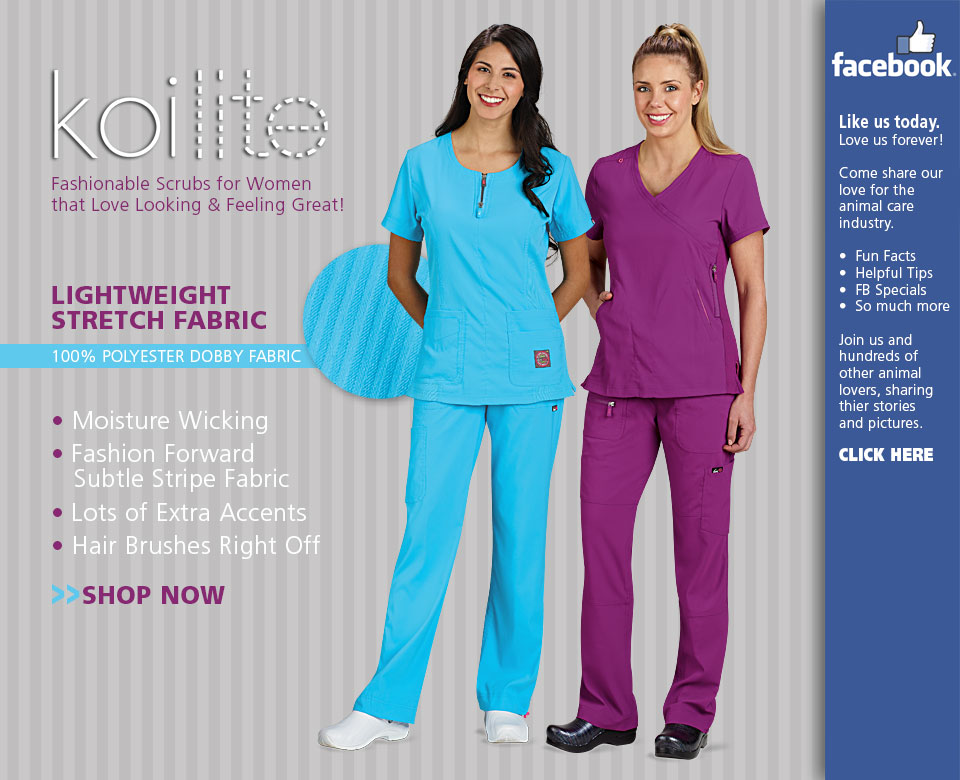 Veterinary Apparel Company Introduces Koi LITE Scrubs for Women
