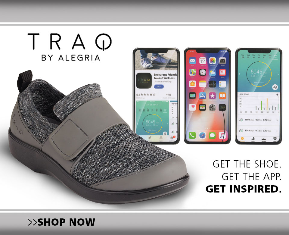 Veterinary Apparel Company Features TRAQ Shoes
