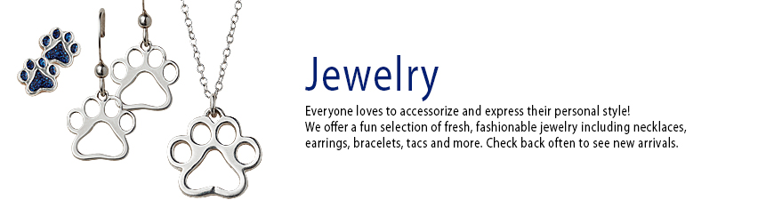 Jewelry Everyone loves to accessorize and express their personal style! We offer a fun selection of fresh, fashionable pet inspired jewelry including necklaces, earrings, bracelets, tacos and more.