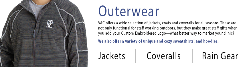 Outerwear from Veterinary Apparel Company