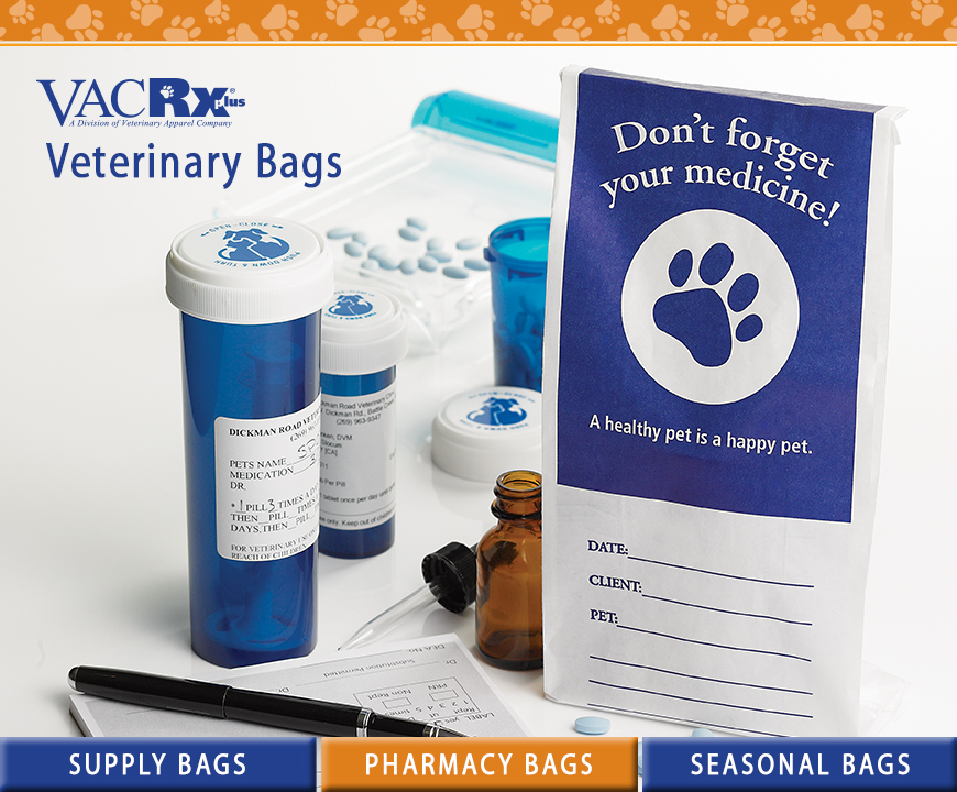 VACRx Supplies Bags