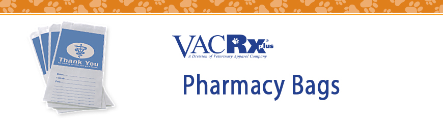 VACRx Supplies Pharmacy Bags